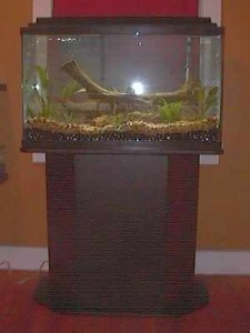 Coated Particle Board Aquarium Stand