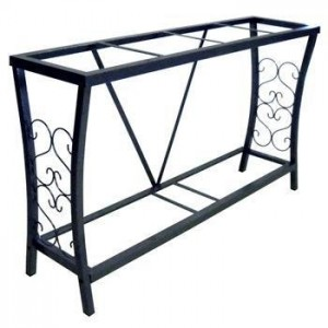 Decorative Iron Aquarium Stand